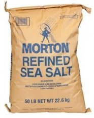 Morton Sea Salt - Food Grade (25 LB)